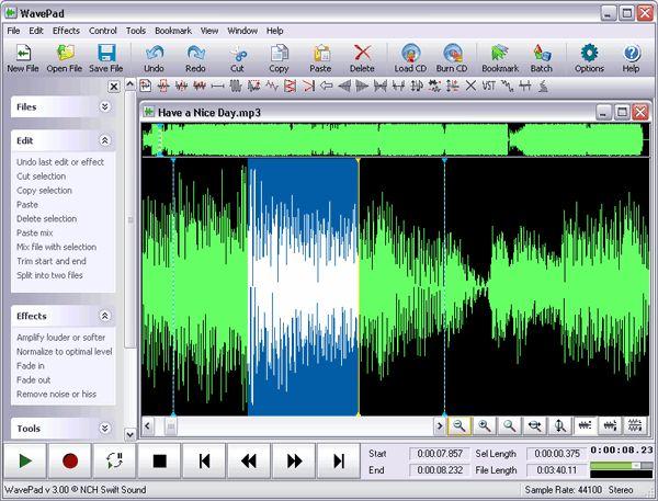 Программу для обрізання музики
